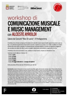 Workshop di Comunicazione Musicale e Music Management